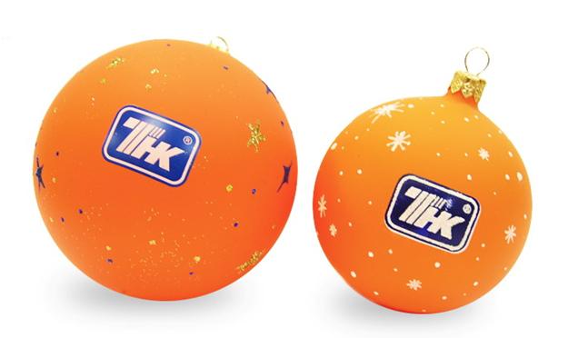 шарики с логотипом: